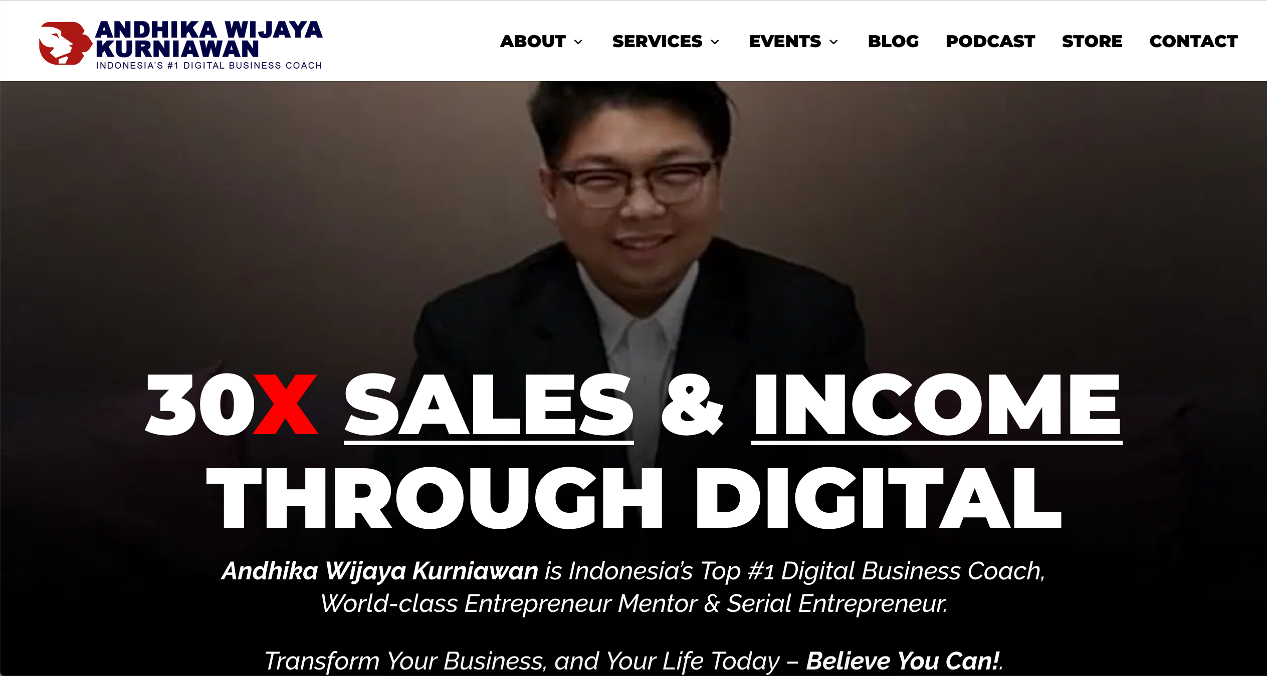 Official Web - Andhika Wijaya Kurniawan