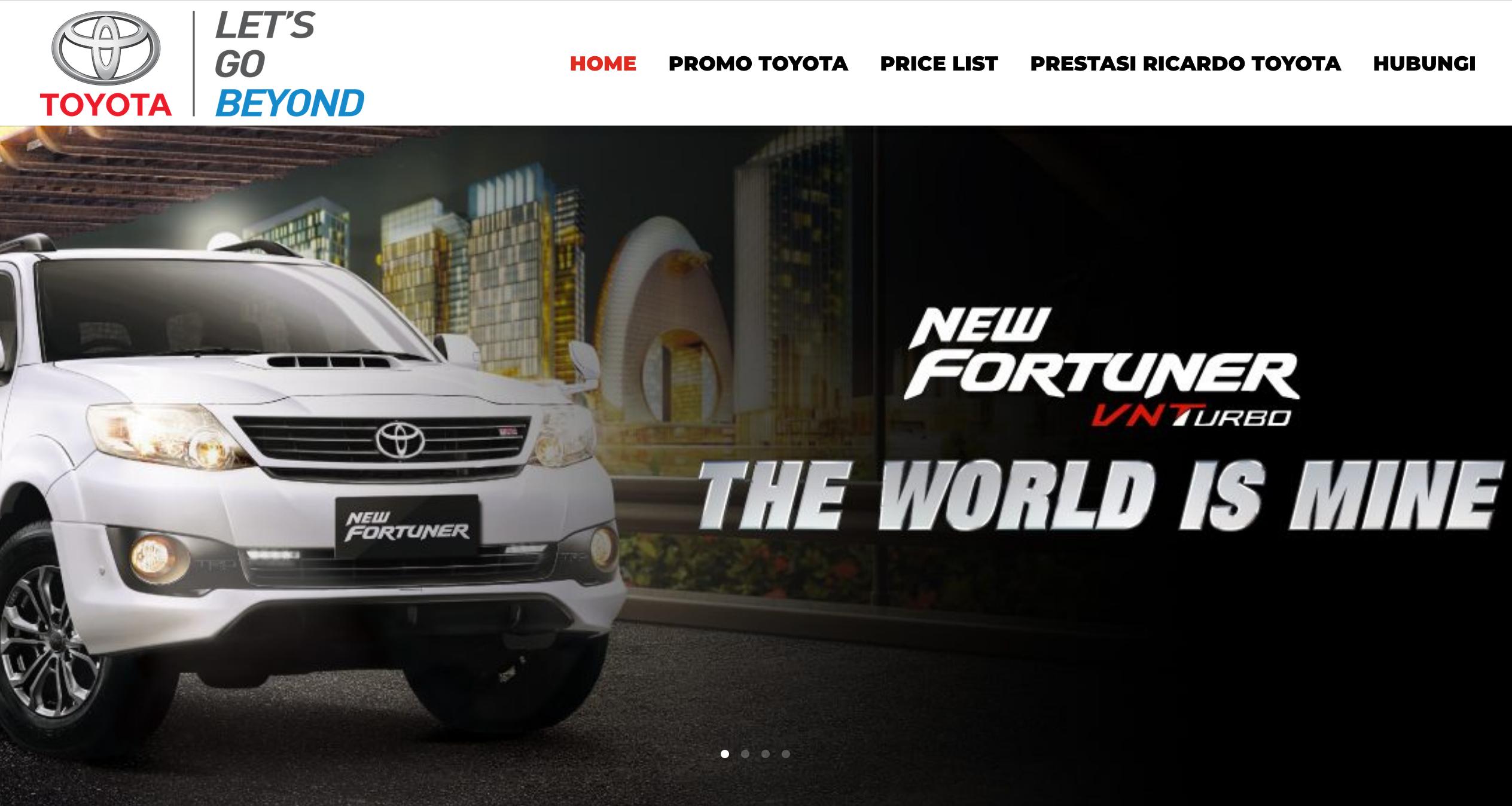 Study Case: Ricardo Toyota - Toyota Indonesia